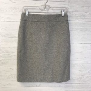 J.Crew Factory Wool Skirt